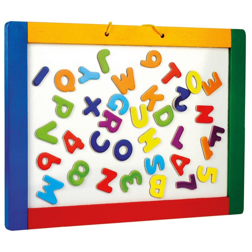 Bino Magnetická tabule s písmenky k zavěšení