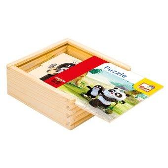 Bino Krtek a Panda,puzzle natur,16d